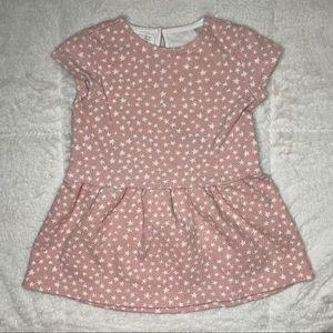 Zara pink star dress